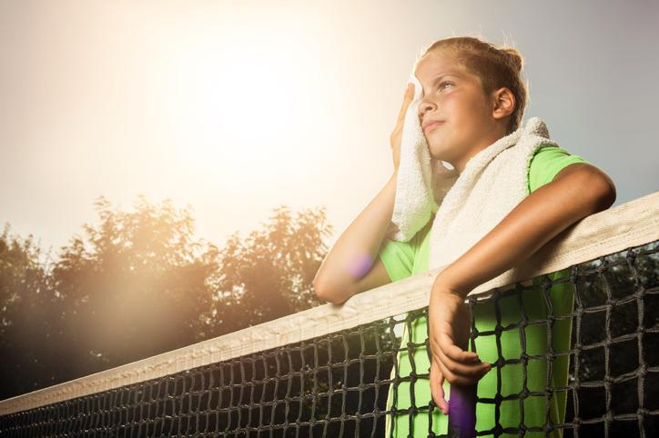 Girl (tennis)