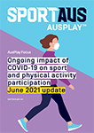 AusPlay COVID-19 June 2021  report front cover